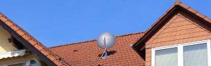 Satelliet installatie Wieringerwerf